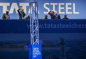 تساوی علیرضا فیروزجا در دور پنجم مسابقات شطرنج تاتا استیل