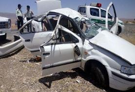 مرگ ۳ عضو خانواده در تصادف کرمانشاه