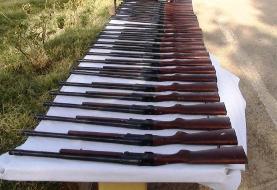 کشف ۴ هزار قبضه سلاح غیر مجاز در ۱۰ ماهه سال جاری