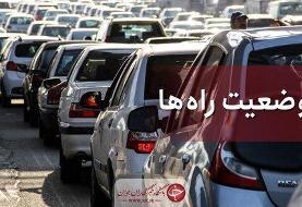 افزایش تردد در راهها؛ جادههای منتهی به شمال شلوغند