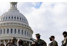 پلیس فدرال آمریکا سوابق نظامیان اعزامی به واشنگتن را بررسی میکند