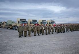 گروهی از نظامیان آذربایجان برای تمرینات مشترک راهی ترکیه شدند