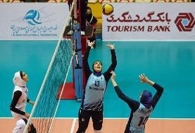 تیم والیبال بانوان پیکان چهارمین شکست شهرداری قزوین را رقم زد