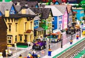 ساخت شهرهایی شگفتانگیز با میلیونها لگو!