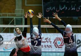 لیگ برتر والیبال زنان؛ پیکان - شهرداری قزوین (عکس)