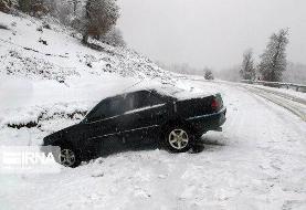 بارش برف و سقوط بهمن در ارتفاعات تهران