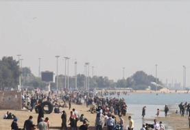 ویدئو | حجم انبوه مسافران در سواحل هرمزگان پیش به سوی کرونا | ورود ۴۰ هزار مسافر به قشم و هرمز ...