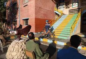 سربازان دوچرخهسوار میشوند