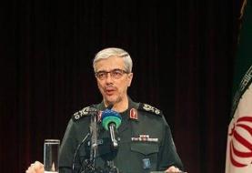واکنش رئیس ستاد کل نیروهای مسلح به پرواز دو بمب افکن آمریکایی بر فراز منطقه
