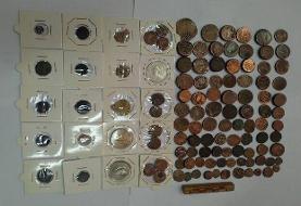 دستگیری قاچاقچیان سکههای قدیمی