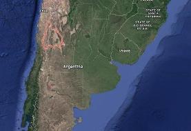 زلزله ۶/۸ ریشتری آرژانتین را لرزاند