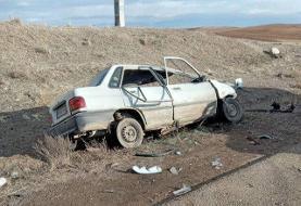 ۳ کشته در حادثه رانندگی محور