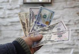 ریزش ۸۰۰ تومانی نرخ دلار در صرافی بانکها