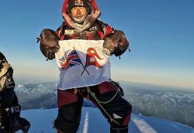 عکس | اولین صعود زمستانی تاریخ به K۲ | کوهنورد مشهور قله ترسناک را فتح کرد