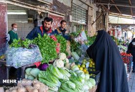 کاهش قیمت سبزیجات و صیفیجات پرمصرف در میادین میوه و تره بار