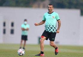 حسینی بهترین بازیکن دیدار پرسپولیس - الوحده شد