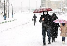 کولاک و برف در راه تهران/ دما ۸ تا ۱۲ درجه کاهش مییابد
