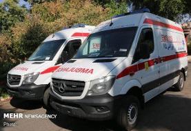 اعزام ۳ آمبولانس به محل آتش سوزی شوش/ حادثه مصدوم نداشت