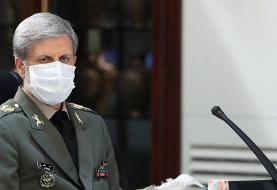 وزیر دفاع: کوچکترین خطای محاسباتی دشمنان با پاسخ سنگین روبهرو میشود