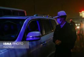 جریمه ۴۶ هزار و ۵۰۴ خودرو در طرح محدودیت تردد شب گذشته