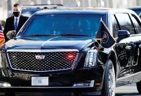 ویدئو | ضخامت باورنکردنی درهای هیولا؛ خودرو رئیس جمهوری آمریکا