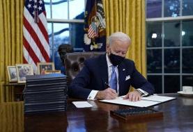 امضای ۱۷ فرمان اجرایی توسط بایدن؛ دستور منع مهاجرت مسلمان لغو شد