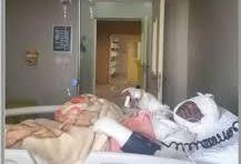 ۶ مصدوم در حادثه آتش سوزی یک مدرسه کانکسی در دزفول