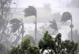 طوفان شدید در گرگان/ سرعت باد به ۱۲۹ کیلومتر رسید