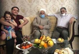 مهدی کروبی و غلامحسین کرباسچی میهمان محمد قوچانی