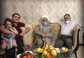 مهدی کروبی به خانه قوچانی رفت +عکس