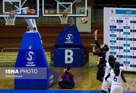 پایان شکستناپذیری نارسینا در لیگ بسکتبال زنان/ مهرام قویتر از قبل ظاهر شد