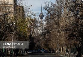 کیفیت هوای تهران در وضعیت مطلوب