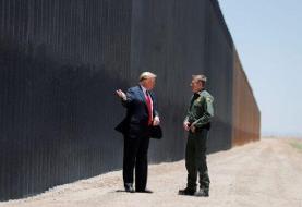 بایدن: ادامه ساخت دیوار در مرز مکزیک متوقف شود
