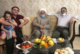 (تصویر) مهدی کروبی به خانه قوچانی رفت