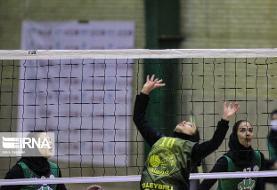 غلبه تیم والیبال زنان زرتشتی یزد بر پاس گرگان