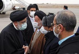 سفر رئیسی به استان سمنان | تولید برای فعالان اقتصادی باید تسهیل شود| ناامید کردن مردم گناه ...