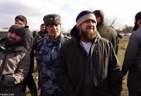 (ویدئو) رهبر چچن در عملیات علیه یک گروه داعشی