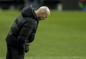 هواداران رئال مادرید دیگر به زیدان اعتماد ندارند