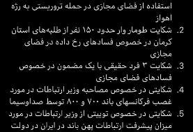 وزارت ارتباطات: اتهام آذری جهرمی فقط فیلتر نکردن اینستاگرام نیست