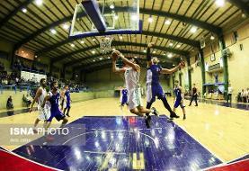 پیروزی مس و نفت در لیگ برتر بسکتبال