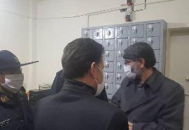 بازدید شبانه رئیس سازمان زندانها از زندان شاهرود