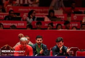 تغییر برنامه تیم ملی تنیس روی میز برای ورود به المپیک