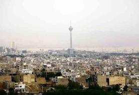 کیفیت هوای تهران دوباره روی فاز کاهشی