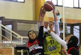 پایان دور برگشت لیگ برتر بسکتبال زنان