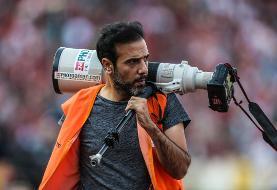 اعطای گواهینامه درجه دو هنری برای عکاس ورزشی