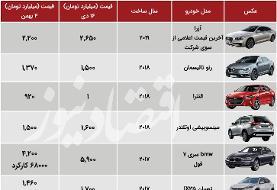 زلزله دلار در بازار خودروهای وارداتی: افت قیمت صدها میلیون تومانی (جدول)