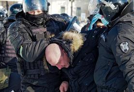 روسیه/ بازداشت دهها معترض ضدپوتین