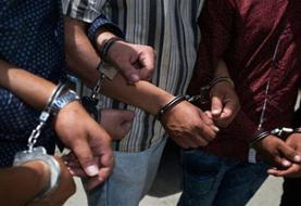 دستگیری ۴ اراذل و اوباش در رودبار