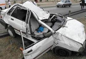 تصادف در جهرم فارس ۳ کشته برجای گذاشت