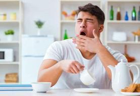 ۸ دلیل احساس خواب آلودگی پس از غذا خوردن
